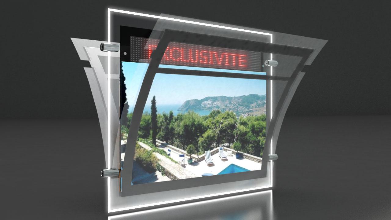 Porte affiche LED - Afficheur LED