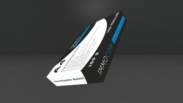 film polyester backlit-Porte affiche led lumineux