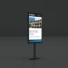 Porte-affiche pour vitrine | Panneaux lumineux LED