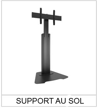 SUPPORT-AU-SOL Porte affiche