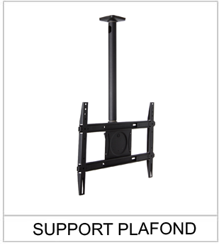 SUPPORT-TV-PLAFOND Porte affiche
