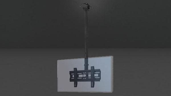 """Support plafond avec hauteur ajustable pour écran 26"""" à 55"""""""