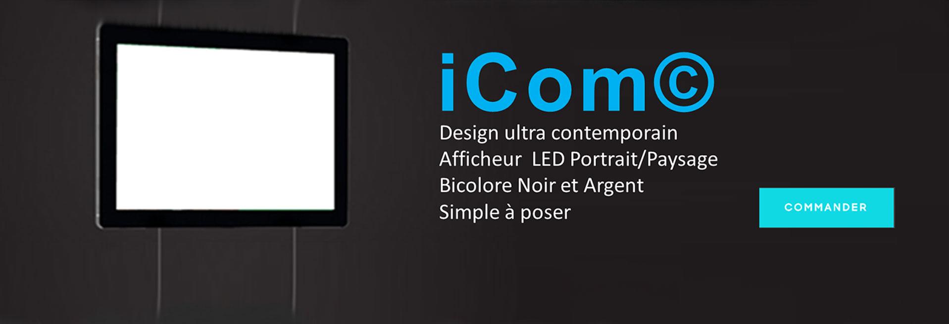 porte affiches LED lumineux publicitaire