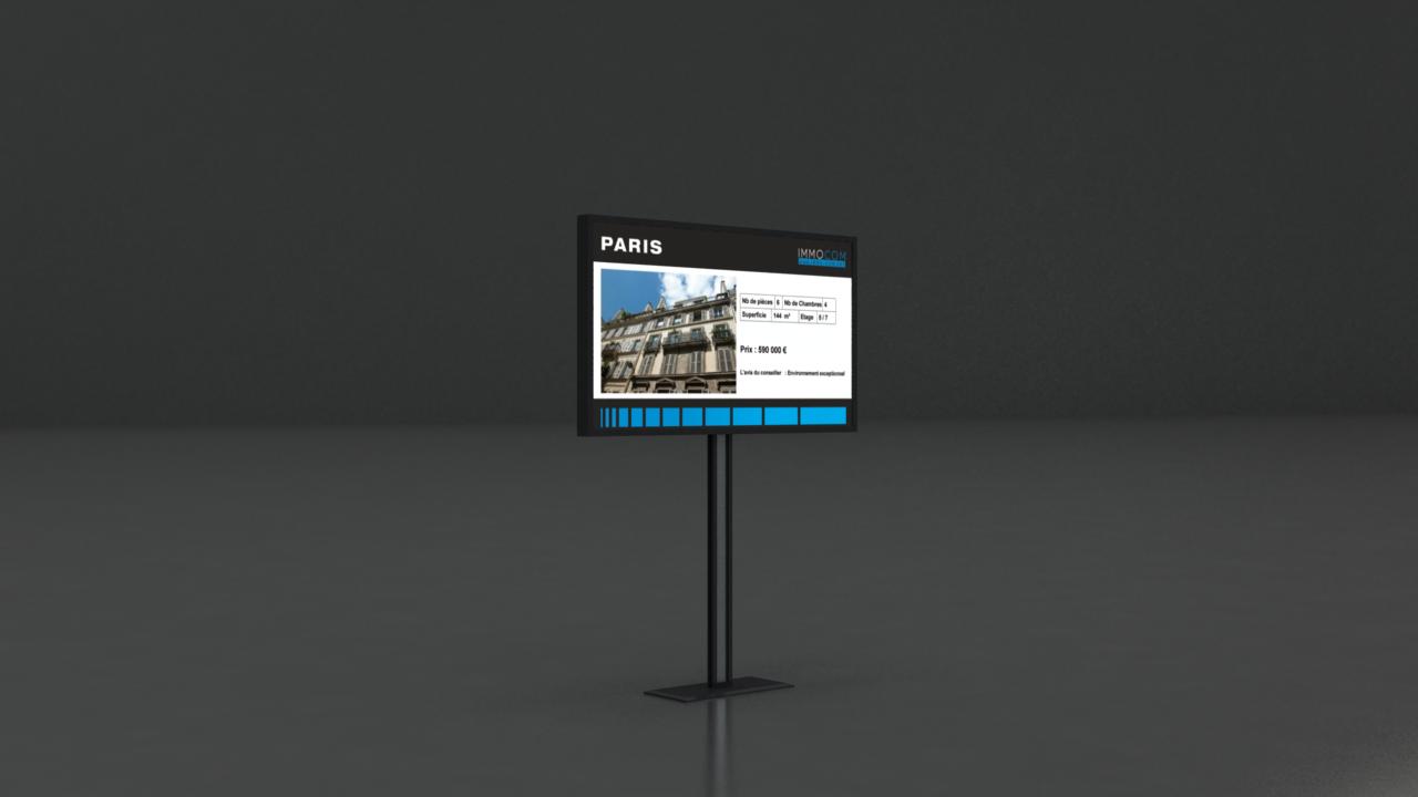 Affichage dynamique Logiciel d'affichage dynamique d'écrans LED